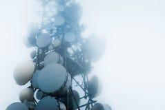 Πύργοι τηλεπικοινωνιών Στοκ Φωτογραφία