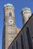 Πύργοι της εκκλησίας της κυρίας μας, Μόναχο Στοκ φωτογραφία με δικαίωμα ελεύθερης χρήσης