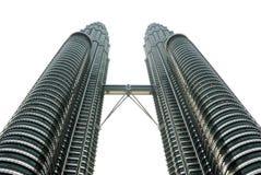 πύργοι της Κουάλα Λουμπ&o στοκ εικόνα με δικαίωμα ελεύθερης χρήσης