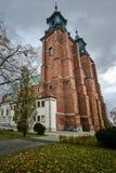 Πύργοι του γοτθικού καθεδρικού ναού Στοκ φωτογραφία με δικαίωμα ελεύθερης χρήσης