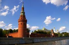 πύργοι του Κρεμλίνου Μόσ&chi Στοκ Εικόνα