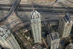 πύργοι του Ντουμπάι στοκ φωτογραφίες