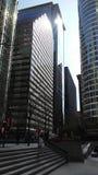 Πύργοι του Σικάγου Οδός LaSalle Στοκ φωτογραφία με δικαίωμα ελεύθερης χρήσης