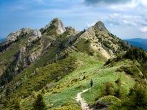 πύργοι υψηλών βουνών στοκ εικόνα