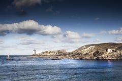 Πύργοι φάρων και γερμανική ακτή αποθηκών στον ατλαντικό τοίχο, στοκ φωτογραφία με δικαίωμα ελεύθερης χρήσης