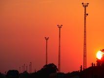 πύργοι Στοκ Φωτογραφίες