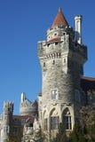 Πύργοι Casa Loma, Τορόντο Στοκ εικόνα με δικαίωμα ελεύθερης χρήσης