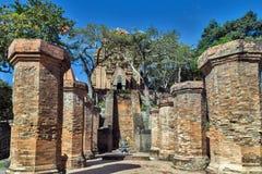 Πύργοι Cham αρχιτεκτονικής po Nagar Βιετνάμ Στοκ φωτογραφία με δικαίωμα ελεύθερης χρήσης