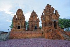 Πύργοι Cham, Ninh Thuan, Βιετνάμ - - 9 Οκτωβρίου 2016 Στοκ Φωτογραφία