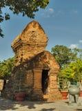 Πύργοι Cham po Nagar Βιετνάμ Στοκ Φωτογραφίες