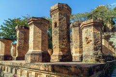 Πύργοι Cham po Nagar Βιετνάμ Στοκ εικόνες με δικαίωμα ελεύθερης χρήσης