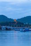 Πύργοι Cham po Nagar Διάσημο παλάτι σε Nhatrang, Βιετνάμ Στοκ Εικόνα