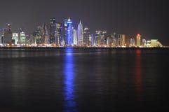 Πύργοι Doha Στοκ Εικόνες