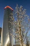 Πύργοι Hadid και Isozaki σε Citylife, Μιλάνο στοκ εικόνες με δικαίωμα ελεύθερης χρήσης