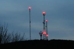 Πύργοι ommunication Ð ¡ Στοκ Φωτογραφίες