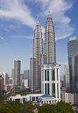 πύργοι petronas της Κουάλα Λουμπούρ Μαλαισία Στοκ Εικόνες