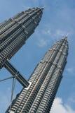 πύργοι petronas της Κουάλα Λου& Στοκ εικόνα με δικαίωμα ελεύθερης χρήσης