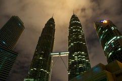 Πύργοι Petronas Στοκ φωτογραφίες με δικαίωμα ελεύθερης χρήσης