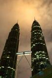 Πύργοι Petronas Στοκ Φωτογραφίες