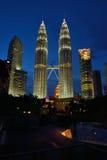 Πύργοι Petronas Στοκ Εικόνες