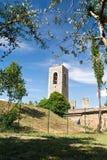 Πύργοι SAN Gimignano, Τοσκάνη, Ιταλία στοκ φωτογραφία