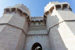 Πύργοι Serranos στοκ φωτογραφία