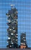 Πύργοι Verticale Bosco στην περιοχή Porta Nuova στο Μιλάνο, Ita στοκ φωτογραφία με δικαίωμα ελεύθερης χρήσης