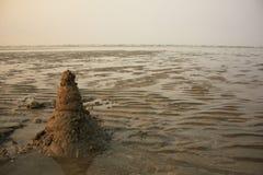 πύργος άμμου Στοκ εικόνα με δικαίωμα ελεύθερης χρήσης