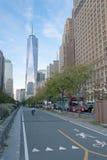 Πύργος ένα του World Trade Center πόλη της Νέας Υόρκης Στοκ εικόνα με δικαίωμα ελεύθερης χρήσης
