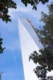 Πύργος ένα του World Trade Center πόλη της Νέας Υόρκης Στοκ Εικόνα