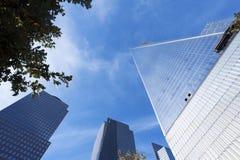 Πύργος ένα του World Trade Center πόλη της Νέας Υόρκης Στοκ Φωτογραφία