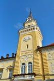 Πύργος αιθουσών πόλεων Kikinda Στοκ φωτογραφίες με δικαίωμα ελεύθερης χρήσης