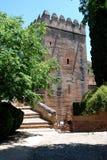 Πύργος ακίδων, Alhambra παλάτι Στοκ Φωτογραφίες