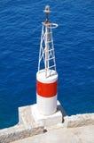Πύργος αναγνωριστικών σημάτων ναυσιπλοΐας θάλασσας Στοκ Εικόνα