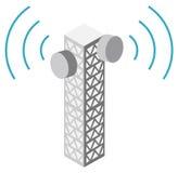 πύργος απεικόνισης κερα&i Στοκ εικόνα με δικαίωμα ελεύθερης χρήσης