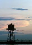πύργος αποβαθρών Στοκ εικόνα με δικαίωμα ελεύθερης χρήσης