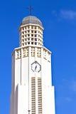 Πύργος από τη νέα Προτεσταντική Εκκλησία Αρούμπα Στοκ Εικόνες