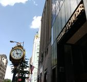 Πύργος ατού, πόλη της Νέας Υόρκης, NYC, Νέα Υόρκη, ΗΠΑ Στοκ Εικόνες