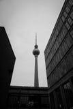 Πύργος Βερολίνο Γερμανία TV Στοκ Εικόνες