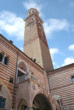 πύργος Βερόνα lamberti της Ιταλίας πόλεων Στοκ εικόνες με δικαίωμα ελεύθερης χρήσης
