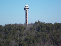 Πύργος βουνών στοκ φωτογραφία