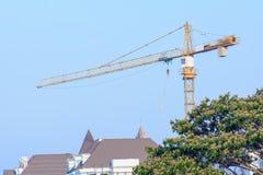 πύργος γερανών Στοκ εικόνα με δικαίωμα ελεύθερης χρήσης