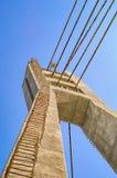 Πύργος γεφυρών αναστολής Στοκ Φωτογραφίες