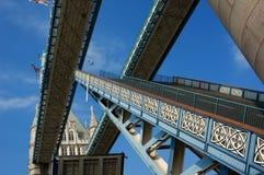 πύργος γεφυρών Στοκ Εικόνα