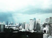Πύργος για την πόλη της Μπανγκόκ στην Ταϊλάνδη Στοκ Εικόνες
