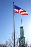 πύργος γυαλιού αμερικα& Στοκ εικόνες με δικαίωμα ελεύθερης χρήσης