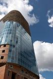 πύργος γυαλιού κατασκ&epsilo Στοκ Φωτογραφίες