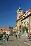 Πύργος Δημαρχείων σε Cheb Στοκ φωτογραφία με δικαίωμα ελεύθερης χρήσης