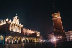 Πύργος Δημαρχείων στην Κρακοβία, Πολωνία στοκ φωτογραφίες με δικαίωμα ελεύθερης χρήσης