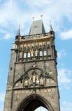 Πύργος εισόδων γεφυρών του Charles Στοκ Φωτογραφίες